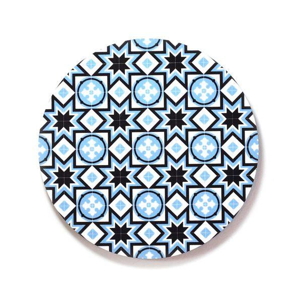Coaster-Geo-Blue-no7