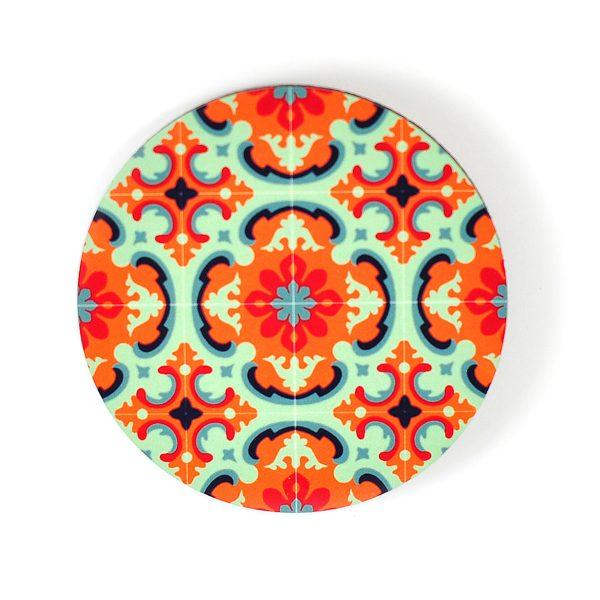 Coaster-floral-Fancy-Vibrant-no2