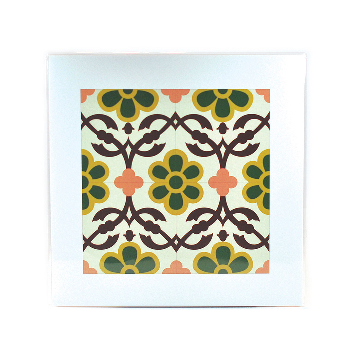 Malta Tile Print, pattern no.12
