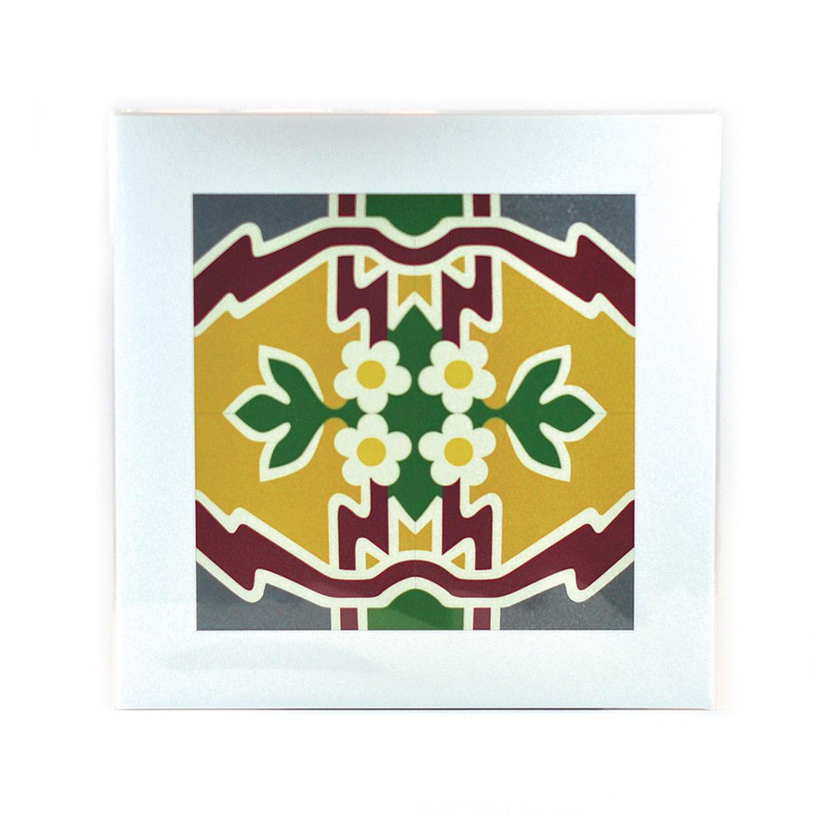Malta Tile Print, pattern no.2