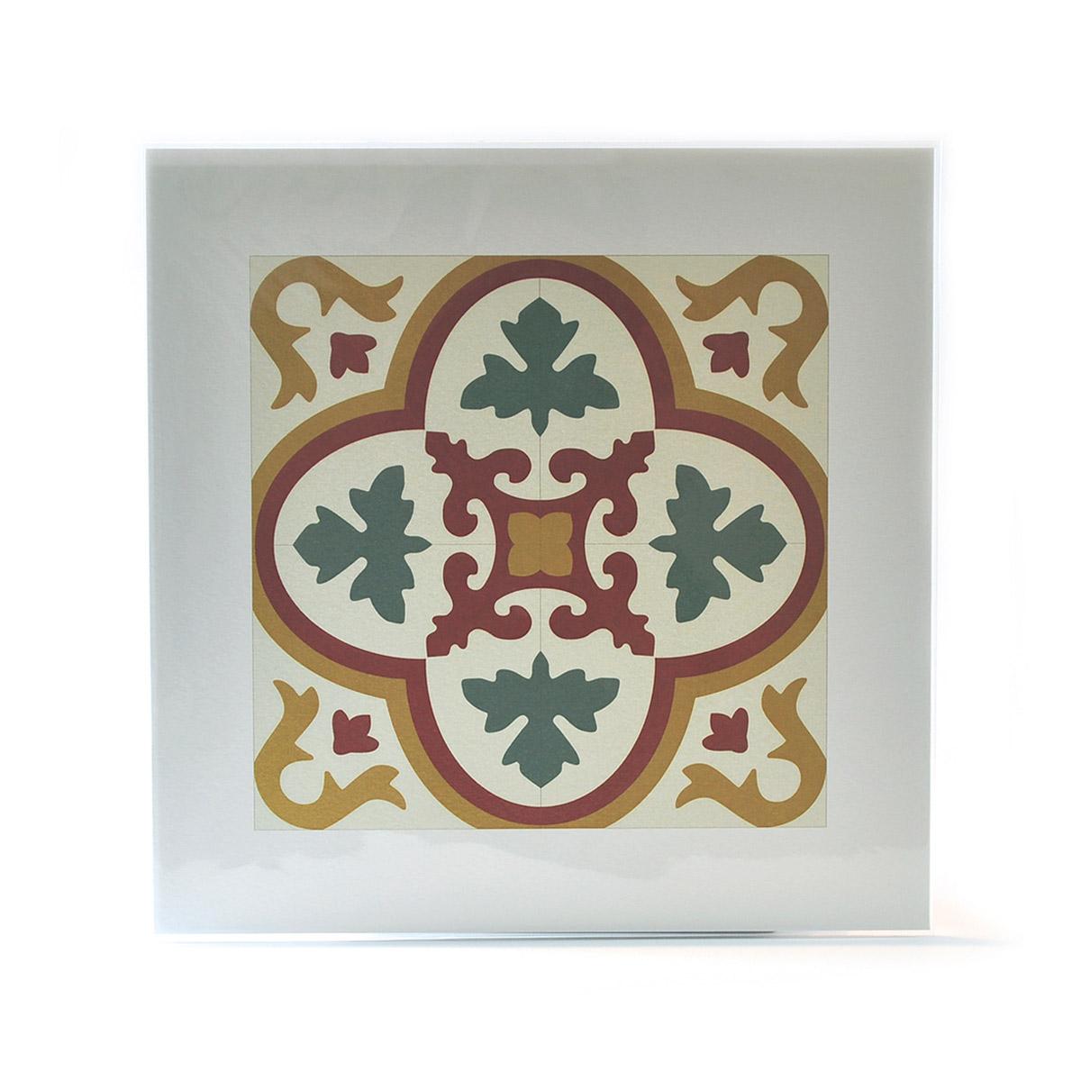 Malta Tile Print, pattern no.4