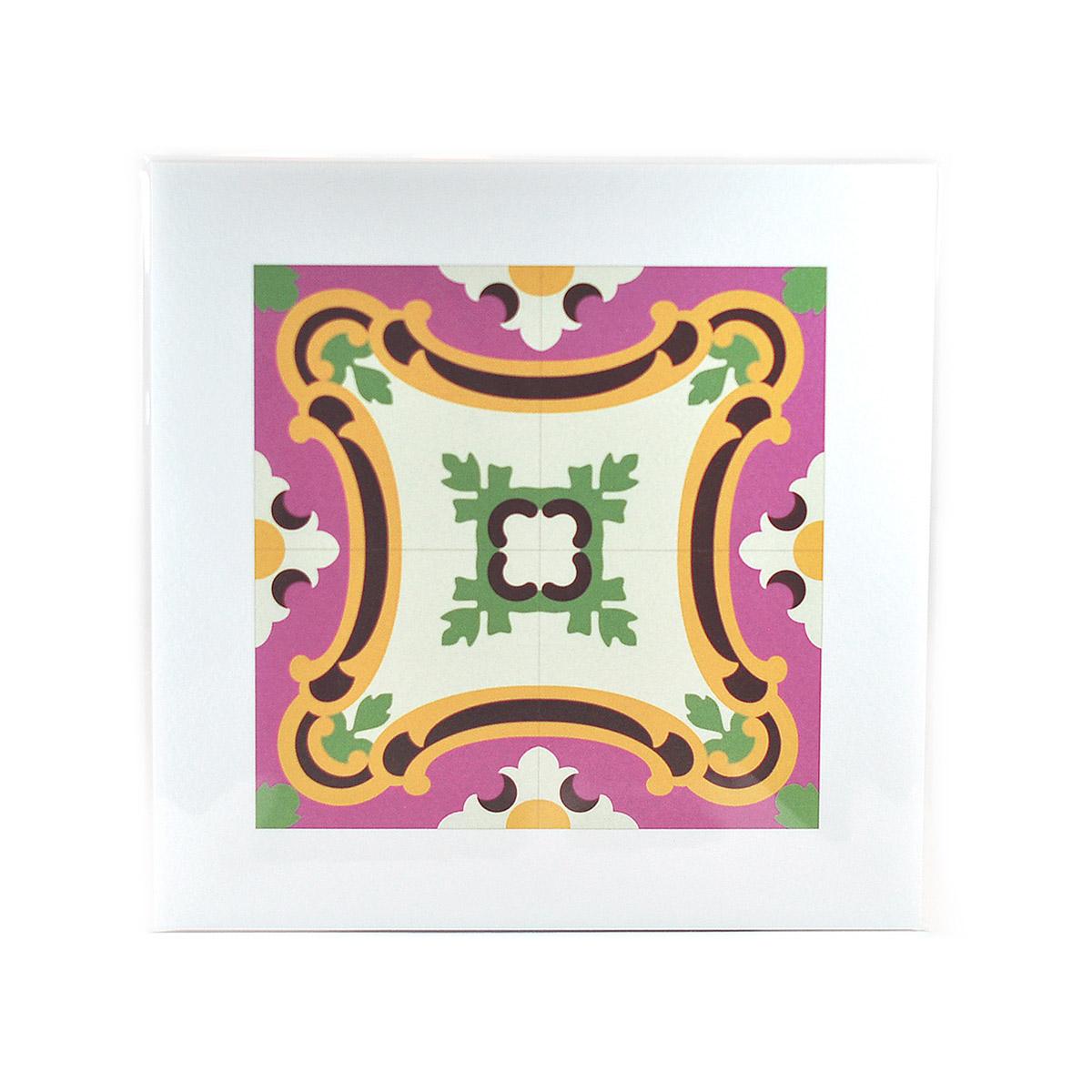 Malta Tile Print, pattern no.5