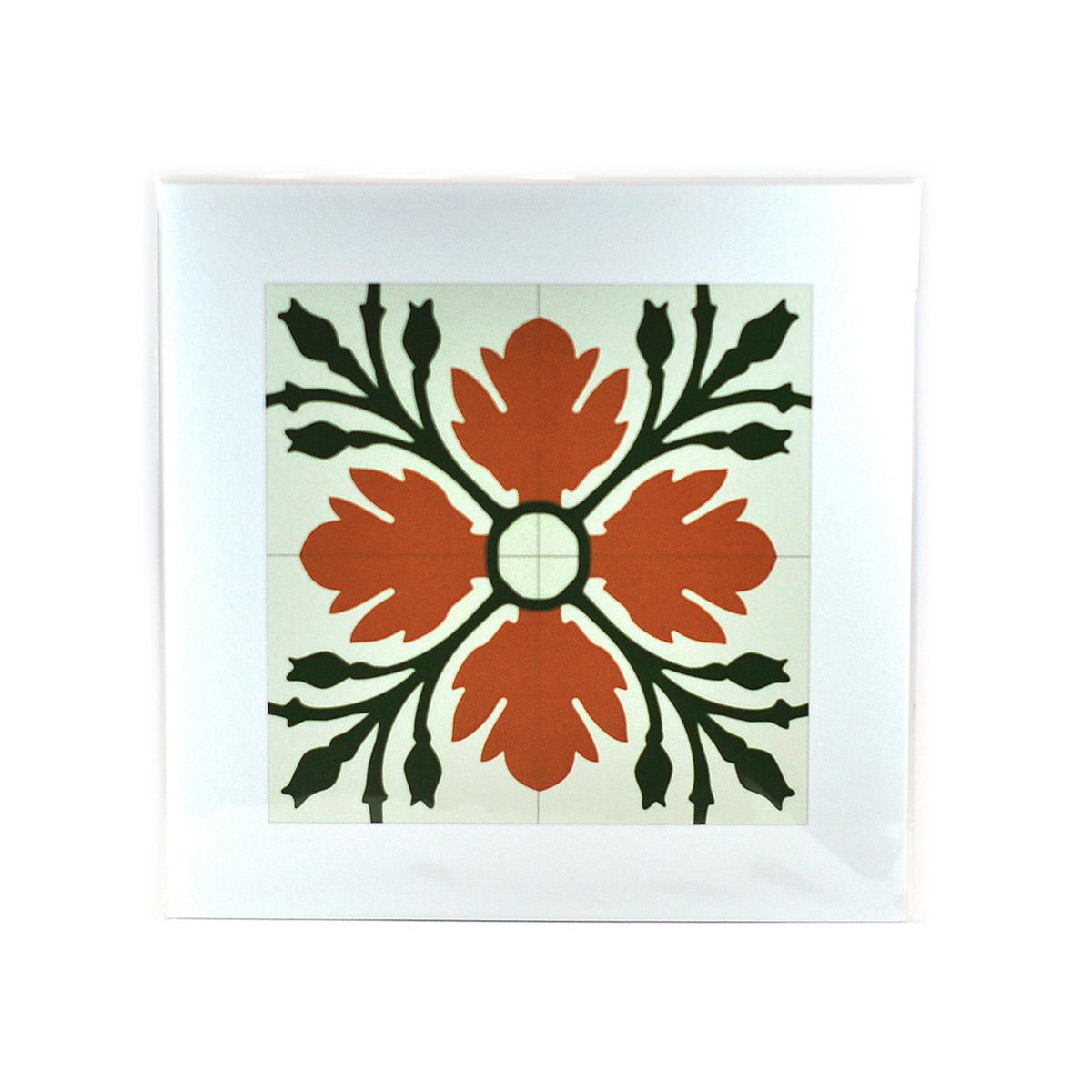 Malta Tile Print, pattern no.7