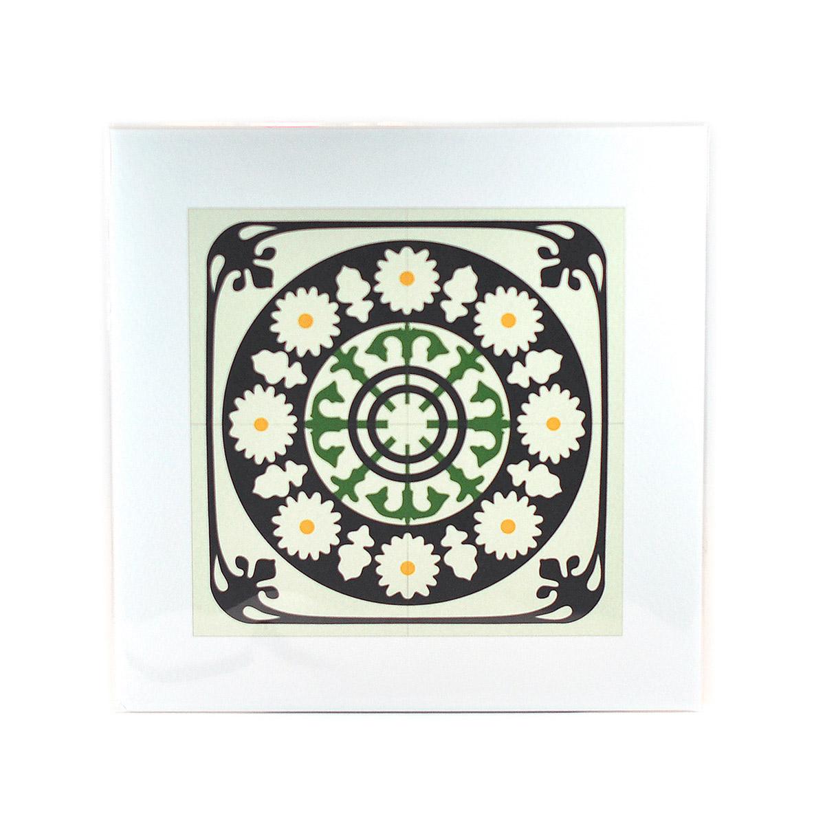 Malta Tile Print, pattern no.8