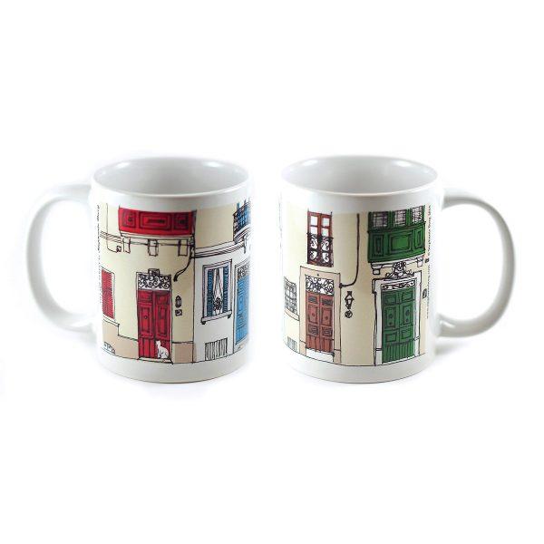 Village-Street-Mug