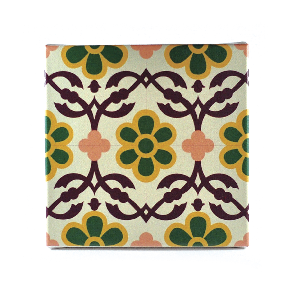 Malta Tile Canvas Block, pattern no.12
