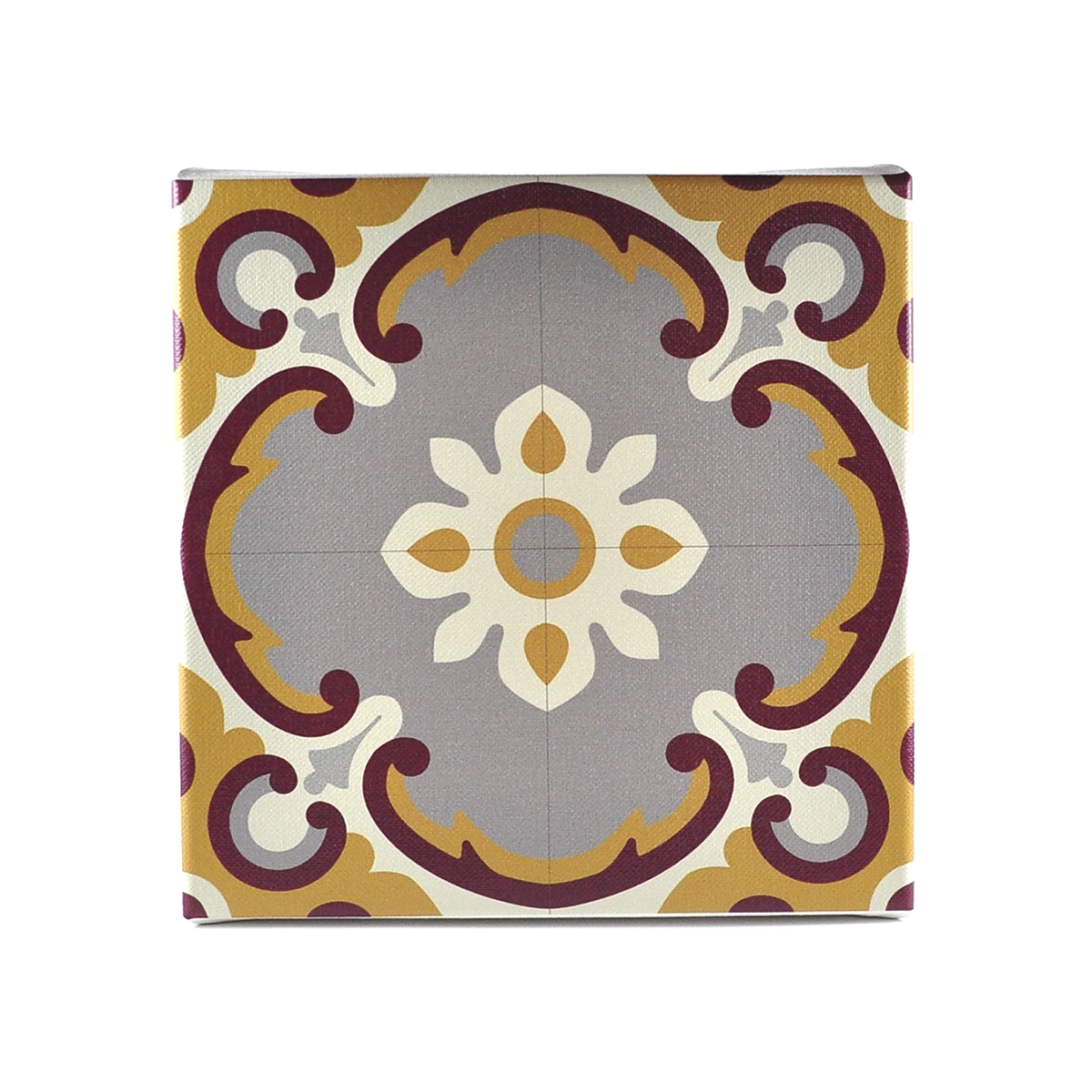 Malta Tile Canvas Block, pattern no.14