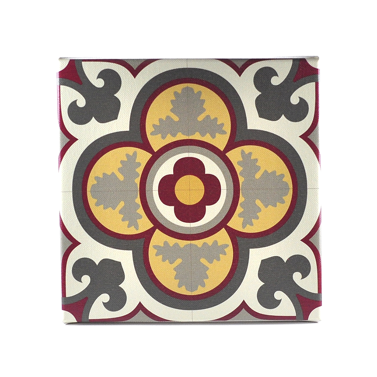 Malta Tile Canvas Block, pattern no.17