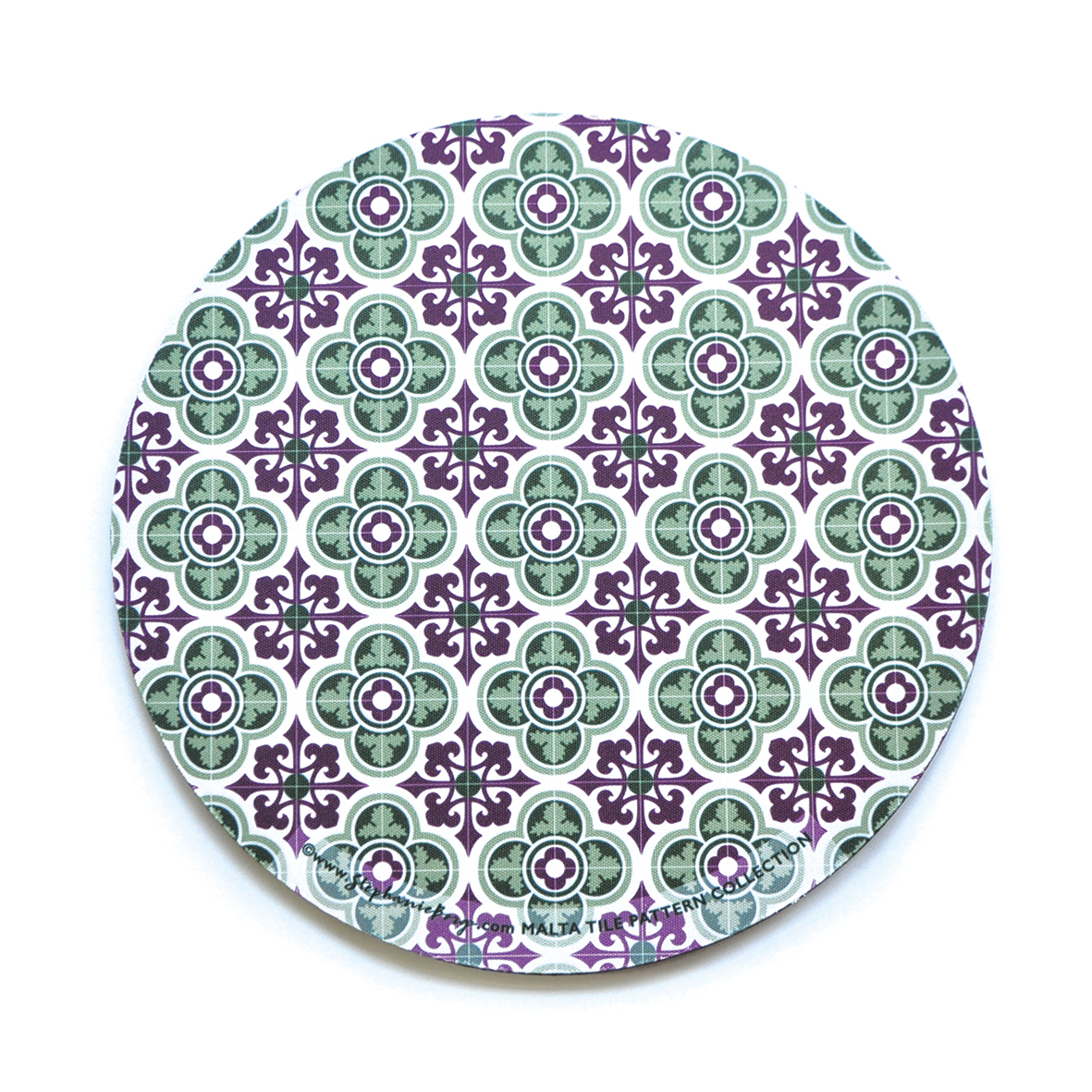 Mousepad with Maltese Tile Patterns, pattern no.6