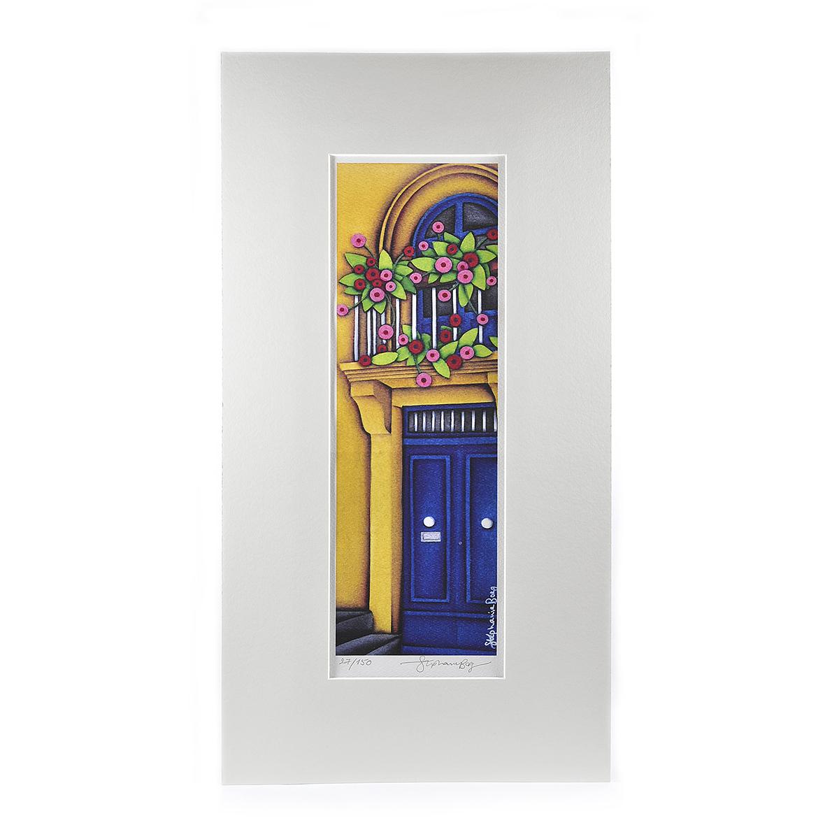 Blue Door Fa‡çade