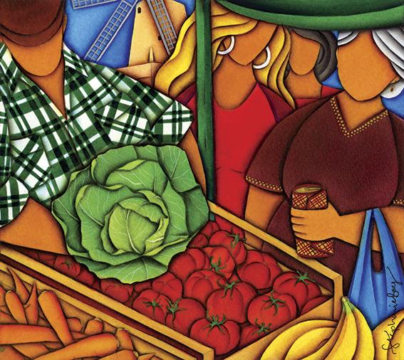 The Fruit Vendor