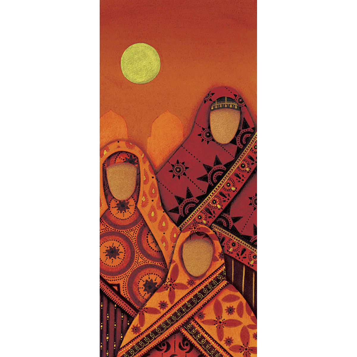 Omani Ladies with Moon