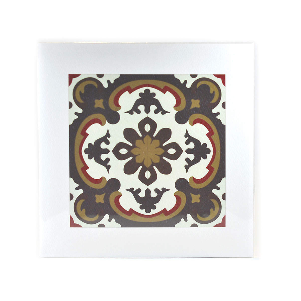 Malta Tile Print, pattern no.16
