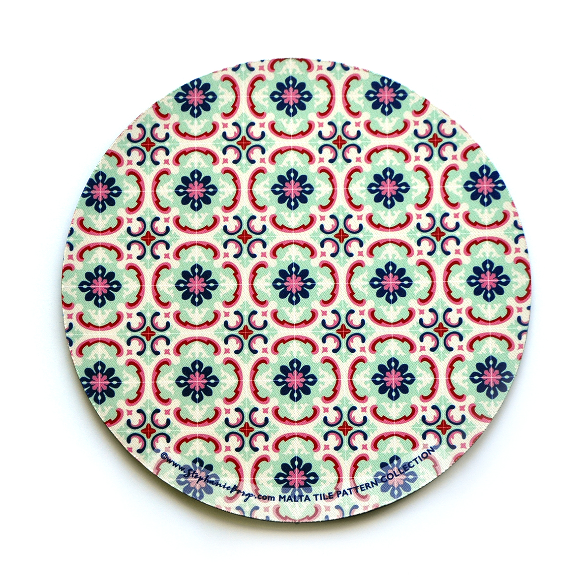 Mousepad with Maltese Tile Patterns, pattern no.1