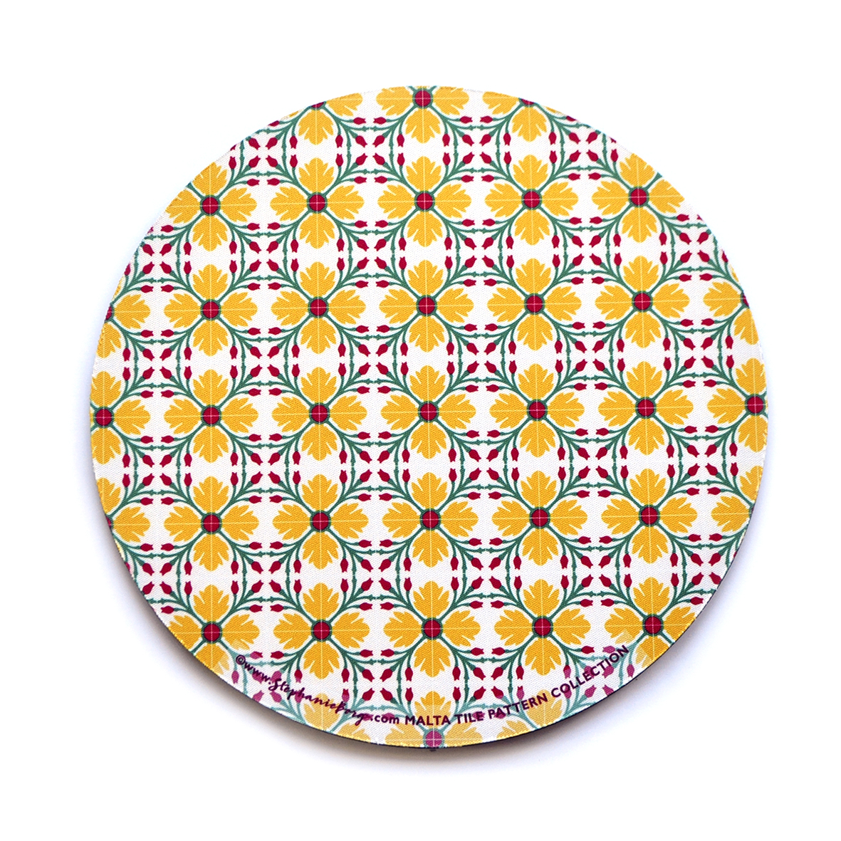 Mousepad with Maltese Tile Patterns, pattern no.10