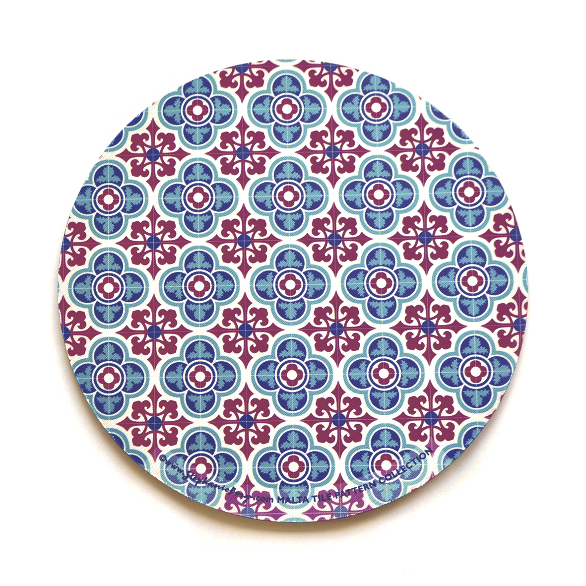 Mousepad with Maltese Tile Patterns, pattern no.3