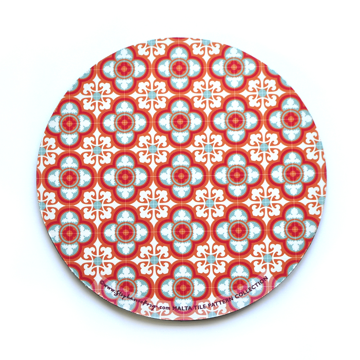 Mousepad with Maltese Tile Patterns, pattern no.5