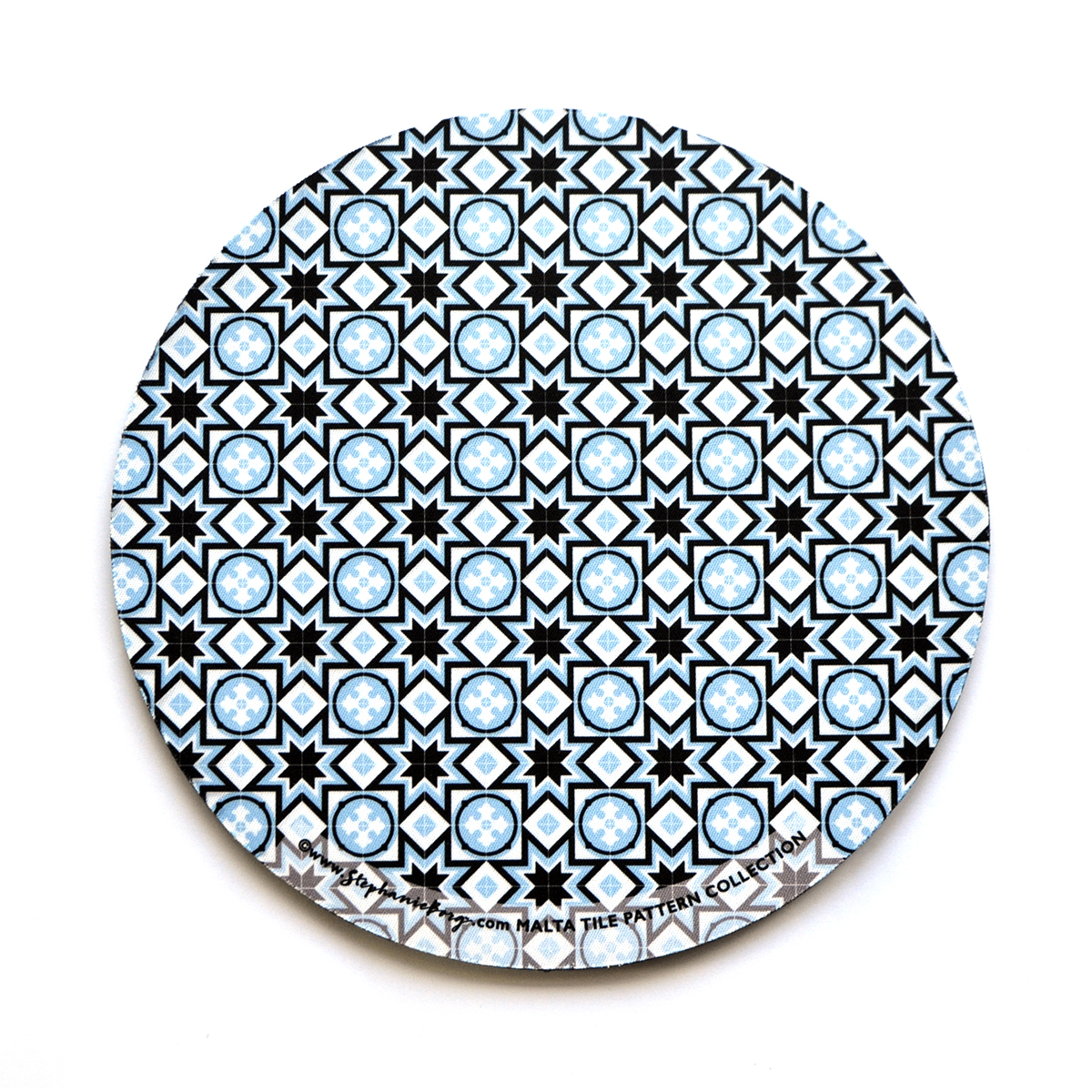 Mousepad with Maltese Tile Patterns, pattern no.7