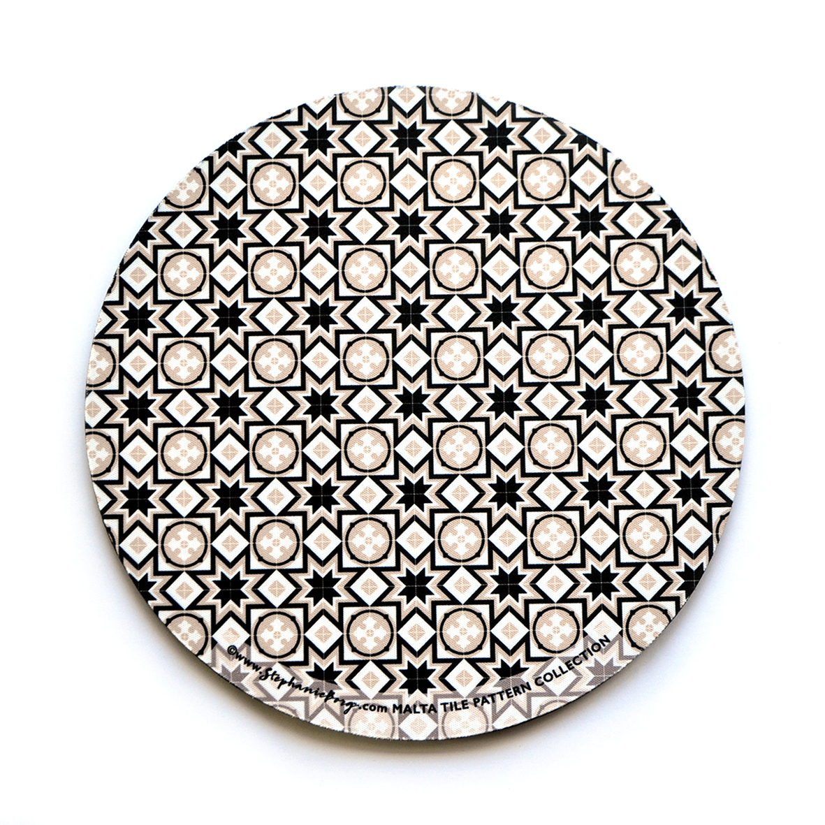 Mousepad with Maltese Tile Patterns, pattern no.8