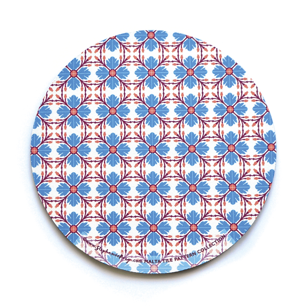 Mousepad with Maltese Tile Patterns, pattern no.9