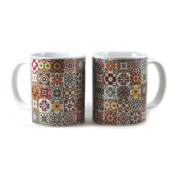 Tile Collage Mugs