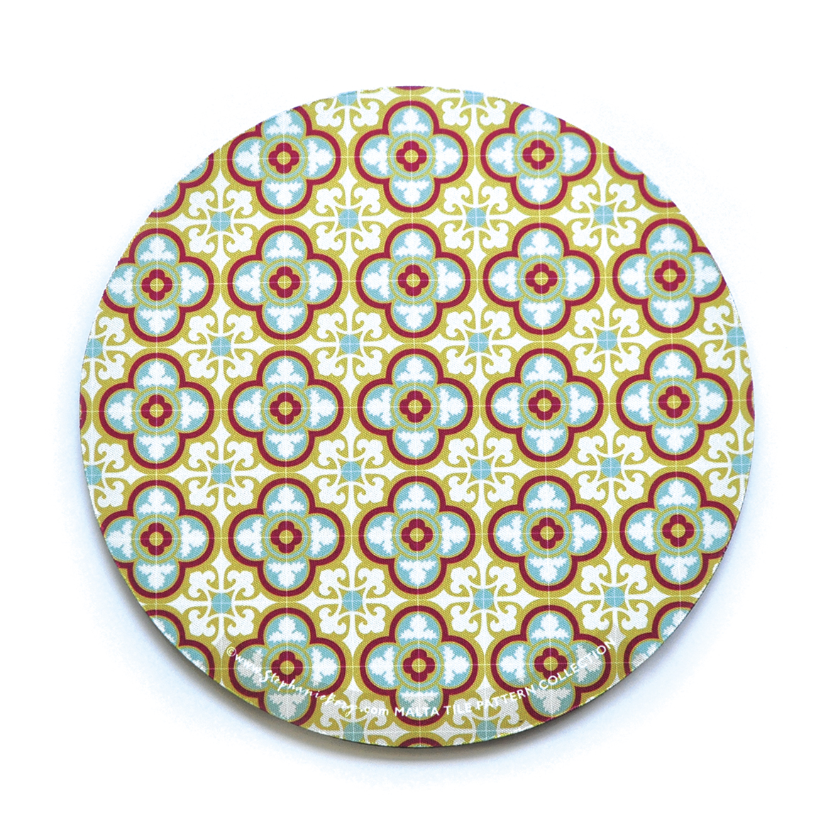 Mousepad with Maltese Tile Patterns, pattern no.12