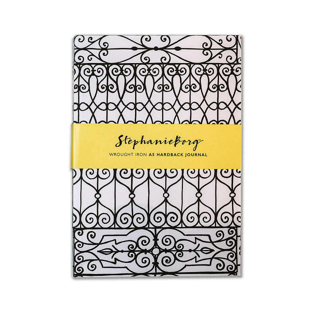 A5 Wrought Iron Hardback Journal
