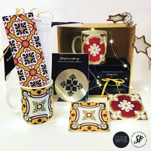 MTP58 - Malta Tile Pattern Gift Box