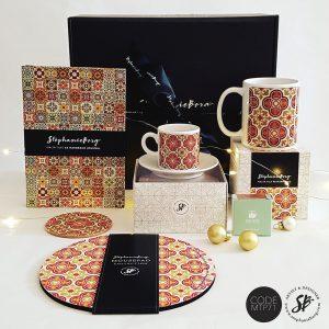 MTP71 - Malta Tile Pattern Gift Box