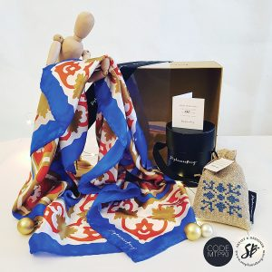 MTP90 - Malta Tile Pattern Gift Box