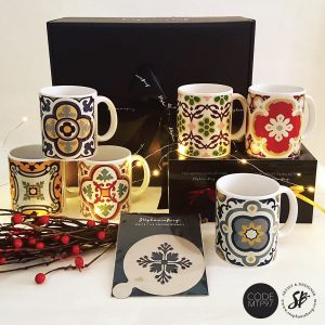 MTP97 - Malta Tile Pattern Gift Box