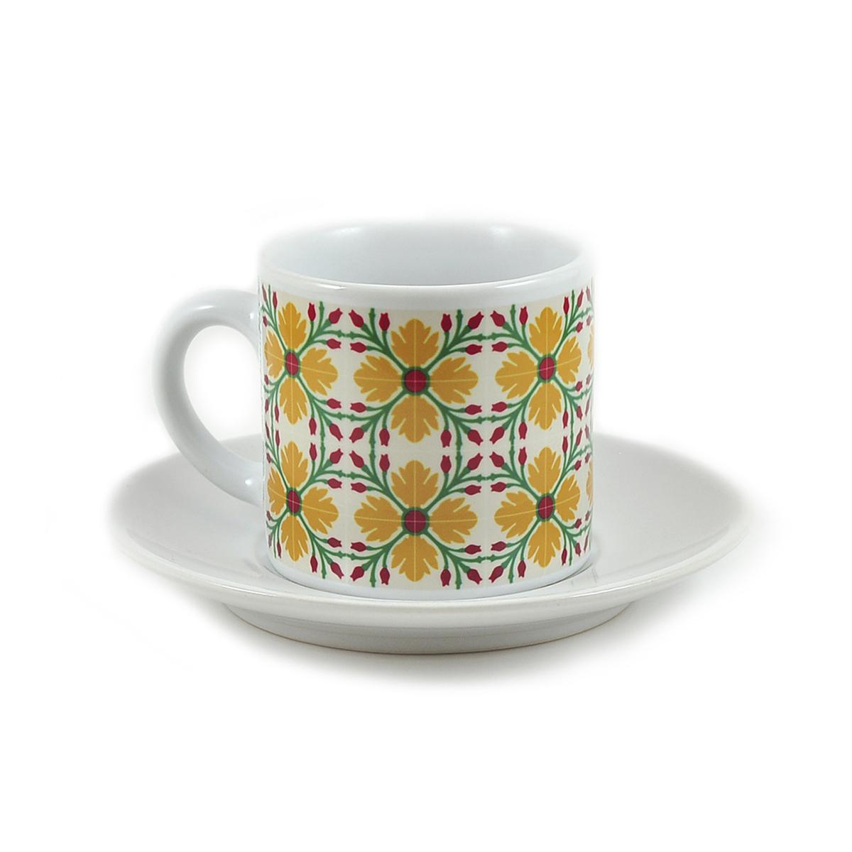 Espresso Yellow Flower