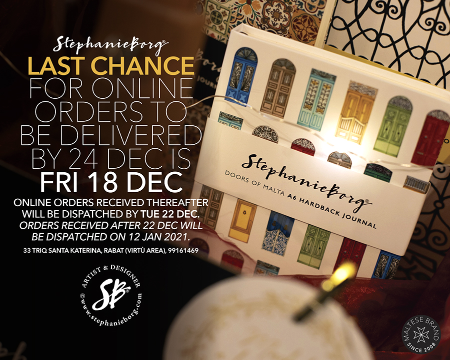 Online Shop – Last Orders Before Christmas & Holiday Notice