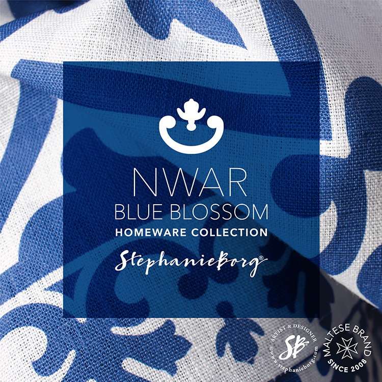 Bold yet Elegant – introducing NWAR Blue Blossom Collection